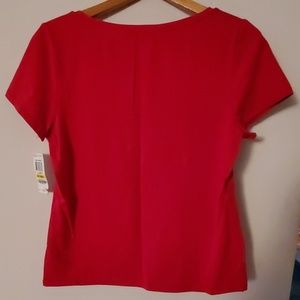 Charter Club Tops - Charter Club Petite NWT Red Blouse - PM